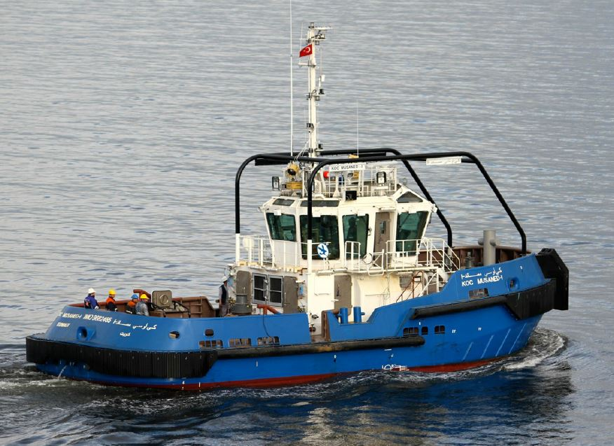 Teignbridge Propellers fitted State of the Art tug Passes Sea Trials