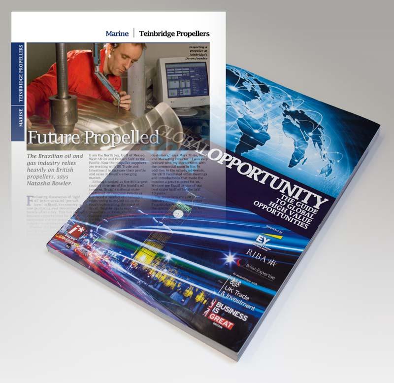 Teignbridge feature in 2014 UKTI Guide