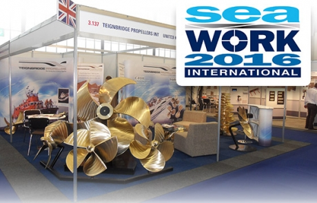 Un año más Teignbridge Propellers exhibe sus productos en Seawork International 2016